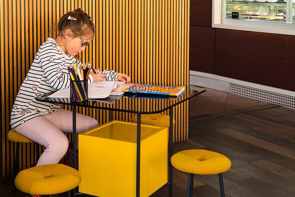 Pohorska kavarna - otroški kotiček