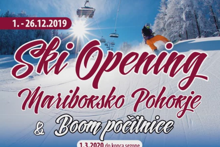 Ski Opening & Boom počitnice